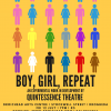 Boy, Girl, Repeat Poster Quintessence Theatre