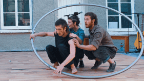 Woven Circus Collective At Spraoi 2018
