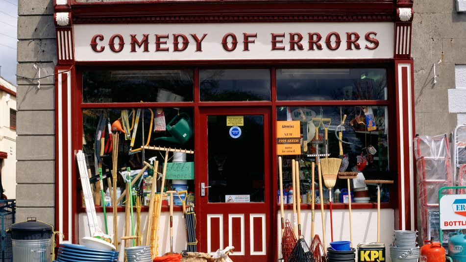 Hardware Shop In An Irish Rural Town,